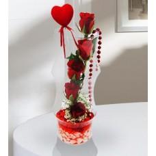 Silindir Kalpli Güller